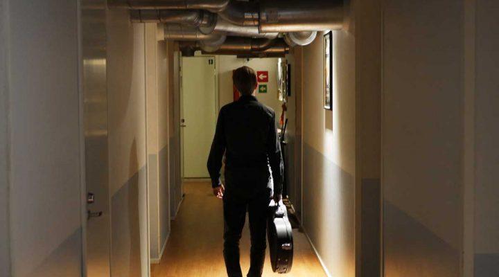 Walking hallway